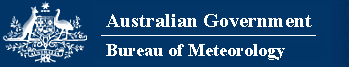 Australian Government - Bureau of Meteorology