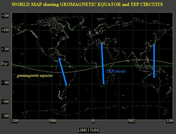 Geomagnetic Equator